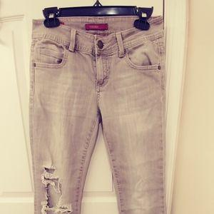 Vigoss Straight Leg Grey Jeans